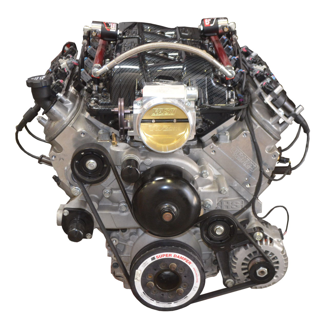 RHS 490ci 755 HP Turn Key Engine Assembly - Street