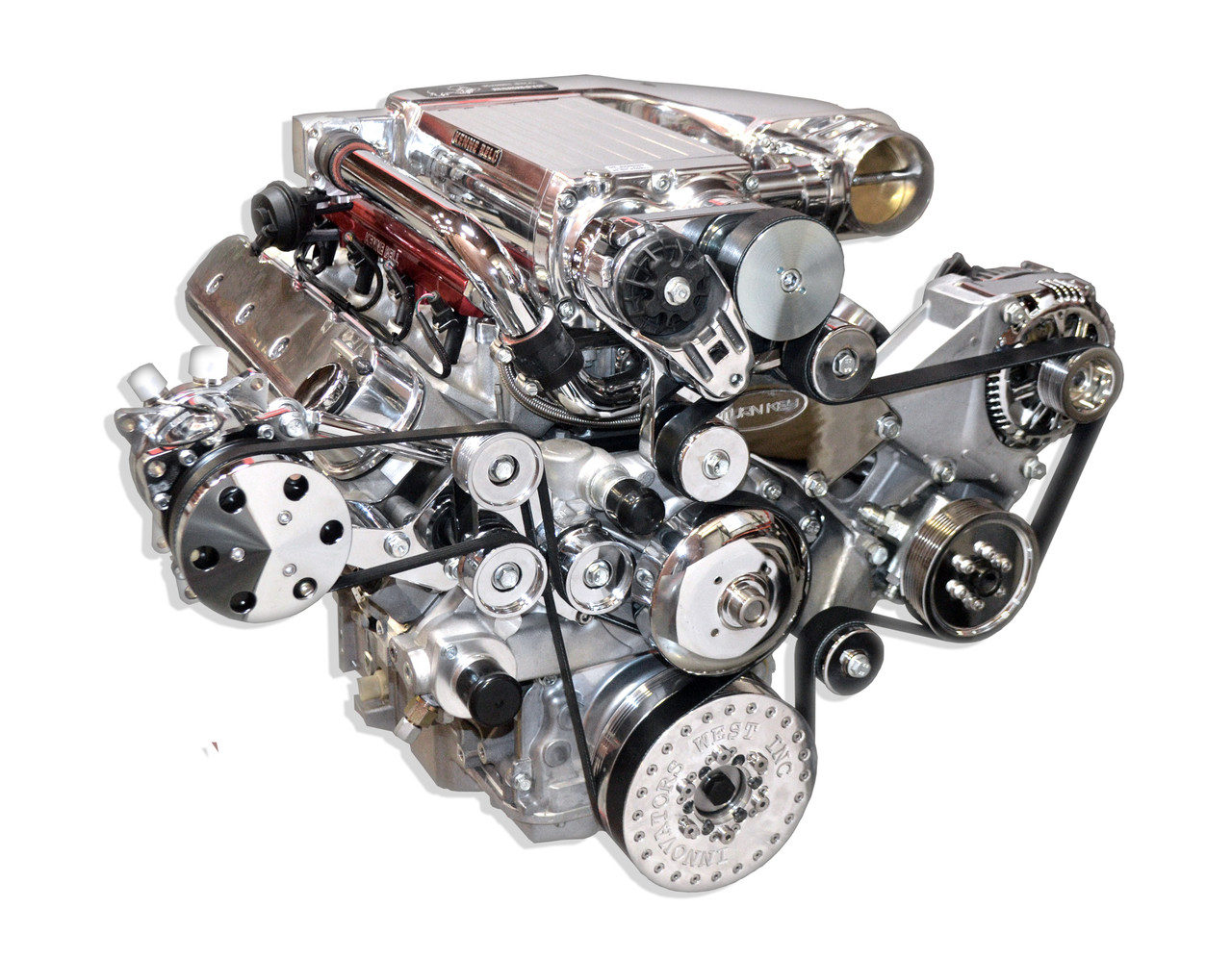 LS3 6 2L 710 HP Supercharged Turn Key Engine Assembly - Street