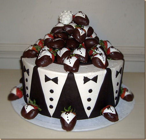 Have Your (Groom's) Wedding Cake, And Eat It Too