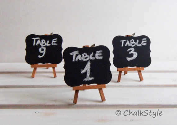 Using Chalkboards At Your Wedding Can Be Ohhh So Fun