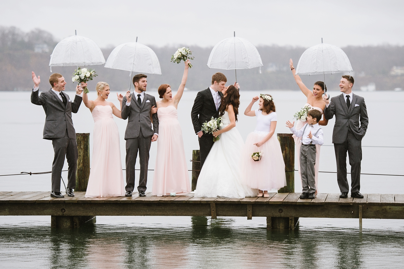 6 Ways To Deal With Wedding Day Rain