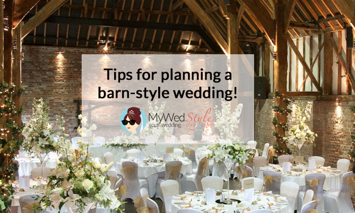 Tips For Planning A Quot Barn Style Quot Wedding Mywedstyle Com