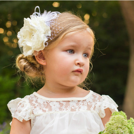 Ophelia Handsinged - Flower Girl Headband