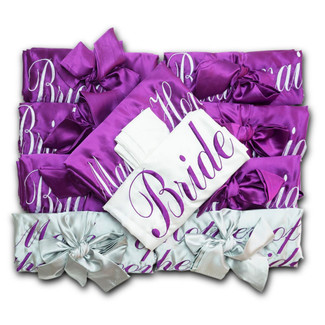 Bridal & Bridesmaid Satin Robes - Plus Size