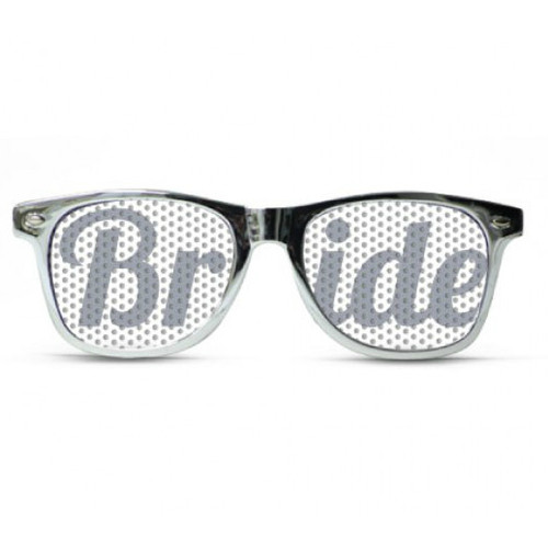 Bride Silver Metal Sunglasses