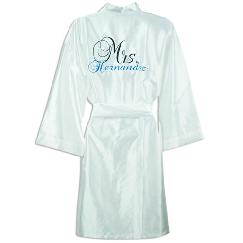 Bridal Robes with Names