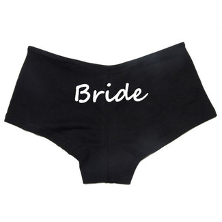 Personalized Bride Boyshorts