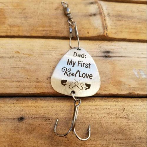 Dad My First Reel Love Fishing Lure