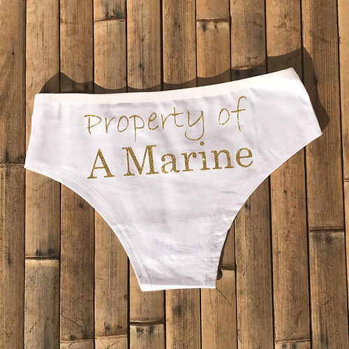 Property of A Marine Panties