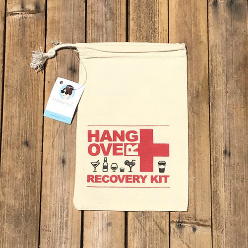 DIY Bachelorette Hangover Kit Party Favor Bags