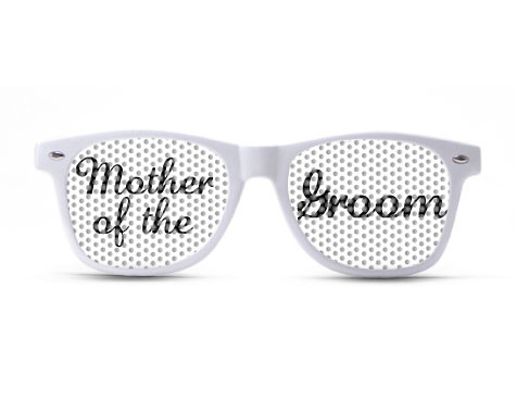 Mother of the Groom Script Sunglasses