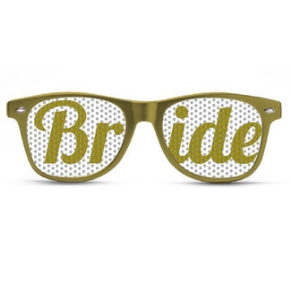 Bride Gold Sunglasses