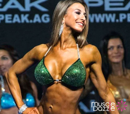 Muscle Dazzle Bikini Bottom - Brazilian Cut