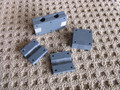 Dual Rudder Pedal Assembly Mounting Blocks