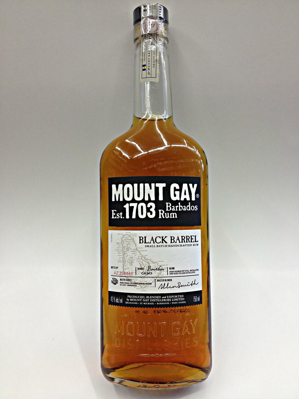 from Ezekiel mount gay barbados
