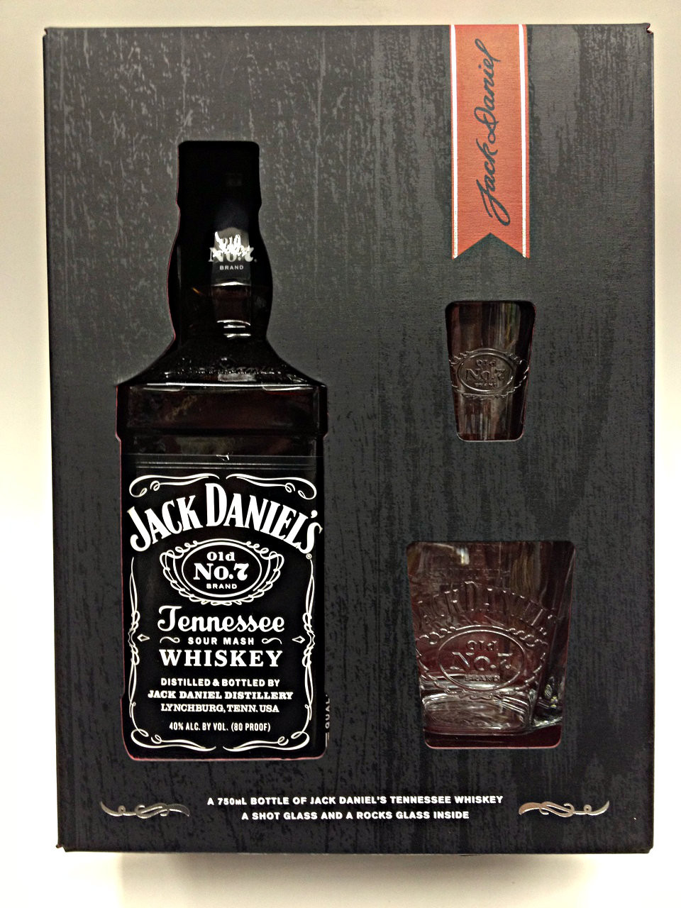 Jack Daniel No 7 Old Tennessee Sour Mash Gift Set | Quality Liquor Store