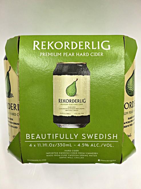 Recorderlig Pear Hard Cider