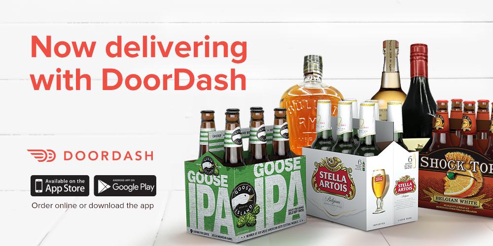 Door Dash Alcohol Delivery