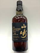 Suntory Yamazaki 18 Year Single Malt Whisky