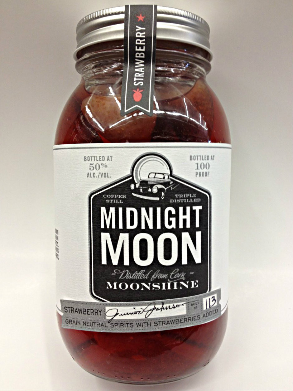 Midnight Moon Moonshine | Strawberry Moonshine | Quality ...