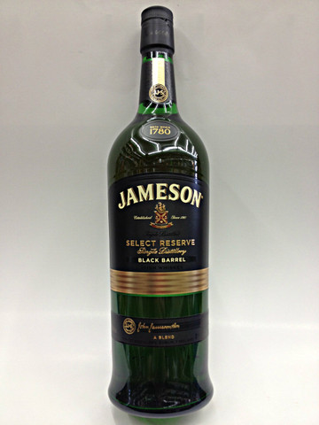 jameson select reserve black barrel quality liquor store. Black Bedroom Furniture Sets. Home Design Ideas