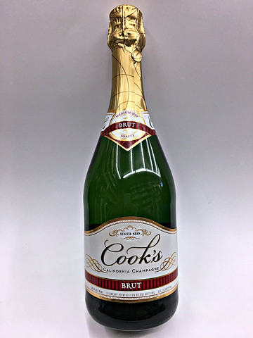 home champagne brut cook 39 s brut 750ml
