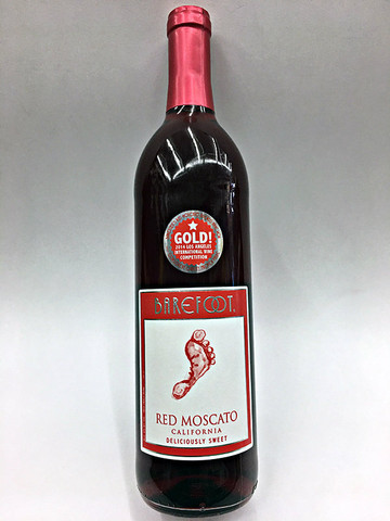Barefoot Red Moscato Quality Liquor Store
