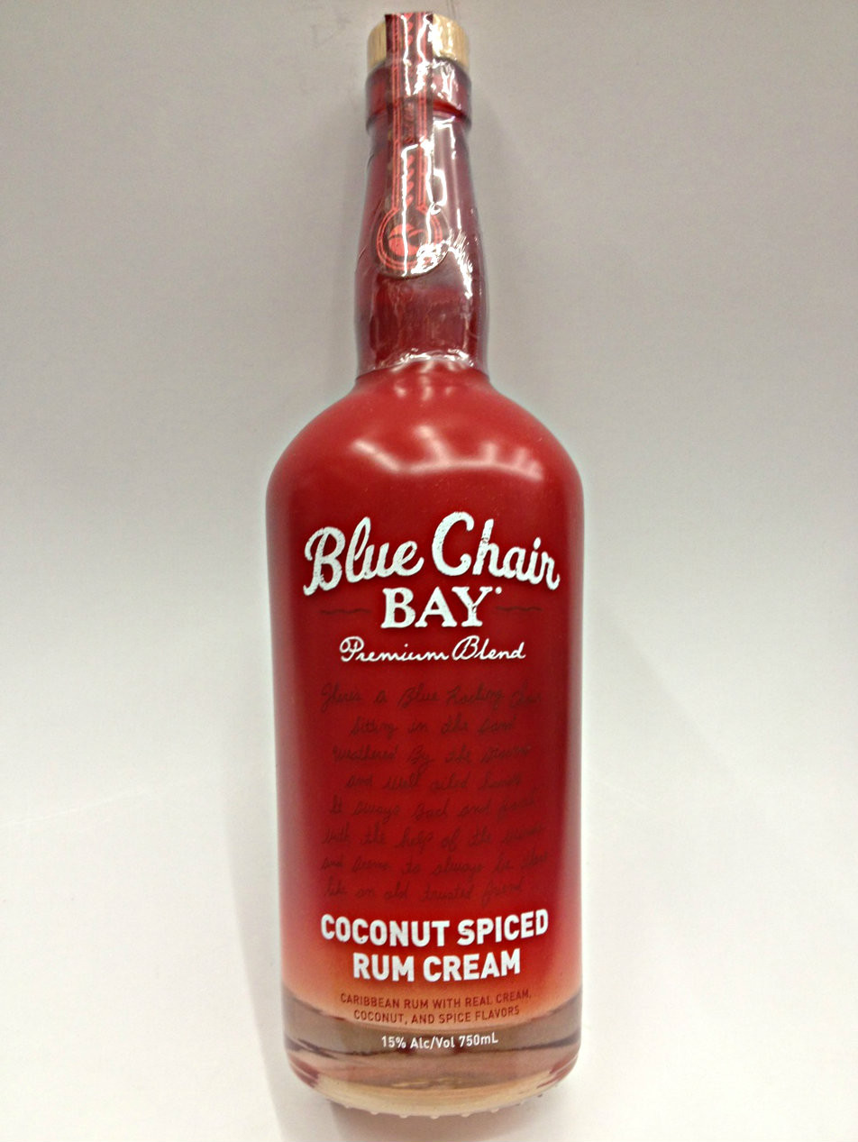 blue chair coconut spiced cream rum quality liquor store