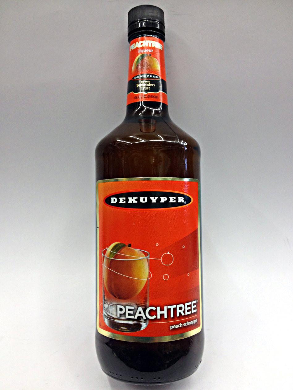 Dekuyper Peachtree Peach Schnapps Quality Liquor Store
