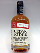 Cedar Ridge Iowa Bourbon Whiskey Handcrafted