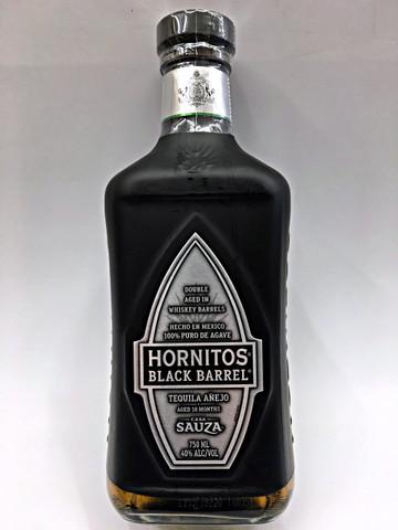 Sauza Hornitos Black Barrel Anejo Tequila Quality Liquor