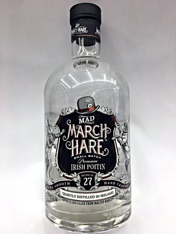 Mad March Hare Small Batch Irish Poitin Quality Liquor Store