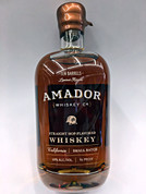 Amador Straight Hop-Flavored Whiskey Ten Barrels Limited Release Small Batch