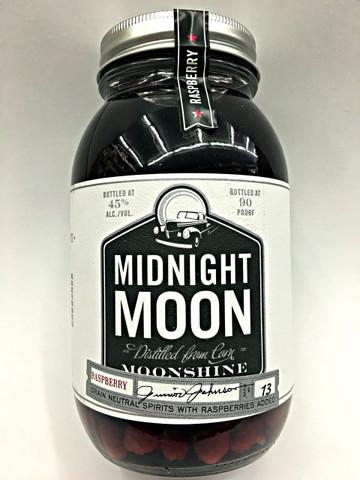 Junior Johnson's Midnight Moon Raspberry Moonshine