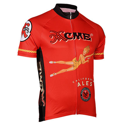 Acme california ales zip up cycling jersey quality for Craft beer cycling jerseys