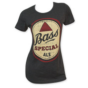 Bass Women's Black Special Ale Tee Shirt