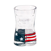 American Flag Men's Swimsuit Shot Glass
