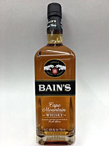 Bain 39 s cape mountain single grain whisky quality liquor for Bain s whisky