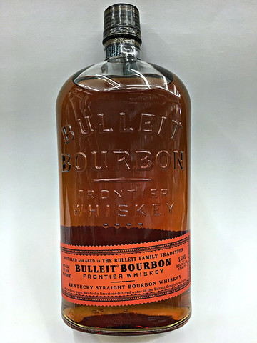 Bulleit Frontier Whiskey Kentucky Straight Bourbon 1.75 Liter