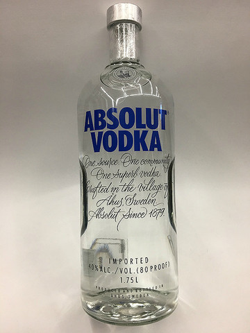 Handle of vodka