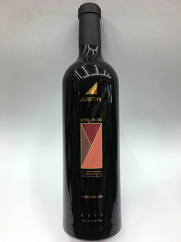 Justin Isosceles Bordeaux Red Blend