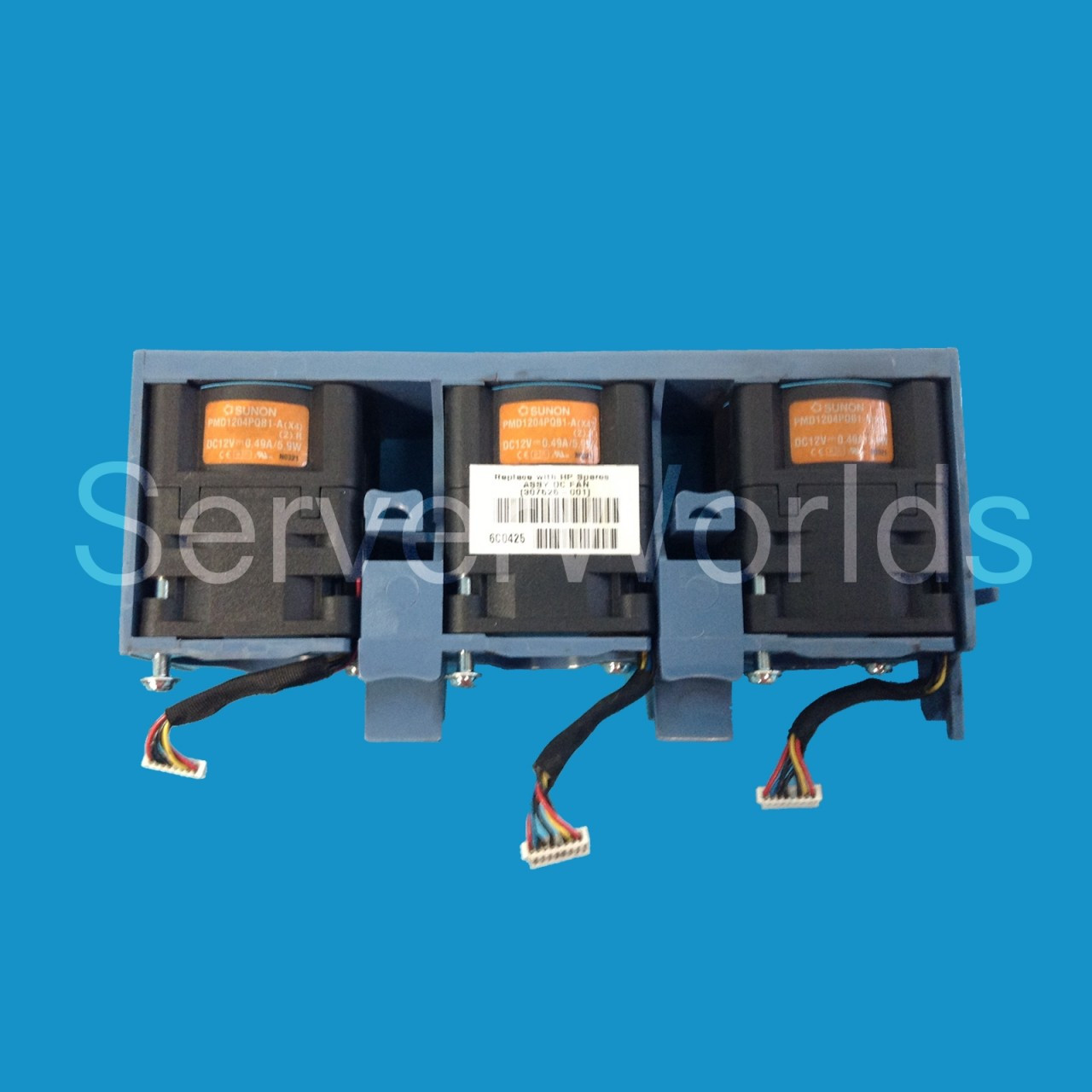 HP 307525-001 Power Supply Fan Assembly for DL360