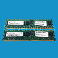 Sun 2GB Memory Kit 2 x 1GB PC2-5300P X5287A-Z