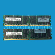 HP 2GB PC2 5300  Single Rank Memory Kit 408851-B21