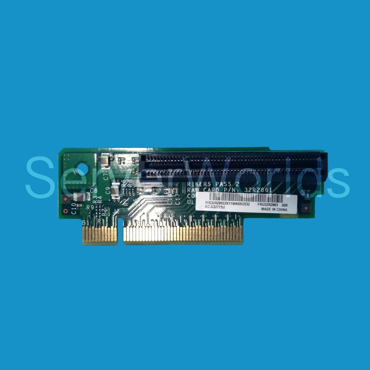 IBM 32R2883 Pci Express Riser Card X3550