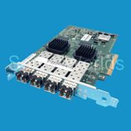 LSI Quad Port 4GB HBA PCIe LSI7404E2-LC w/ 4 x PLRXPL-VE-SG4-26
