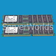 Sun X7403A 1GB Memory Kit  (2x512mb)  DDR DIMM