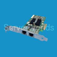 HP 412651-001 NC360T PCI-E Dual Port GBE BOTH Brackets 412646-001