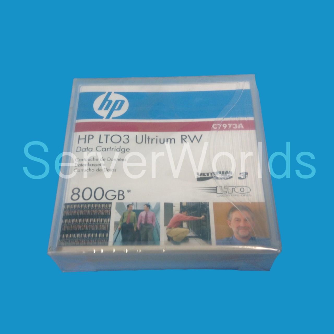 HP LTO-3 Ultrium RW Data Cartridge 800GB C7973-60000