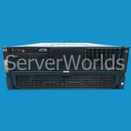 Refurbished HP DL580 G5 4 x 6C E7450 2.40Ghz, 8GB, P400i 487363-001